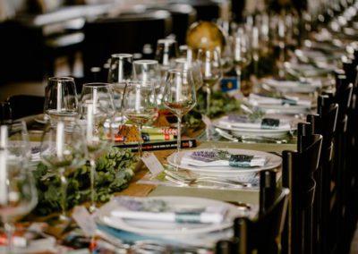 Exemple de décoration de table - Epikur